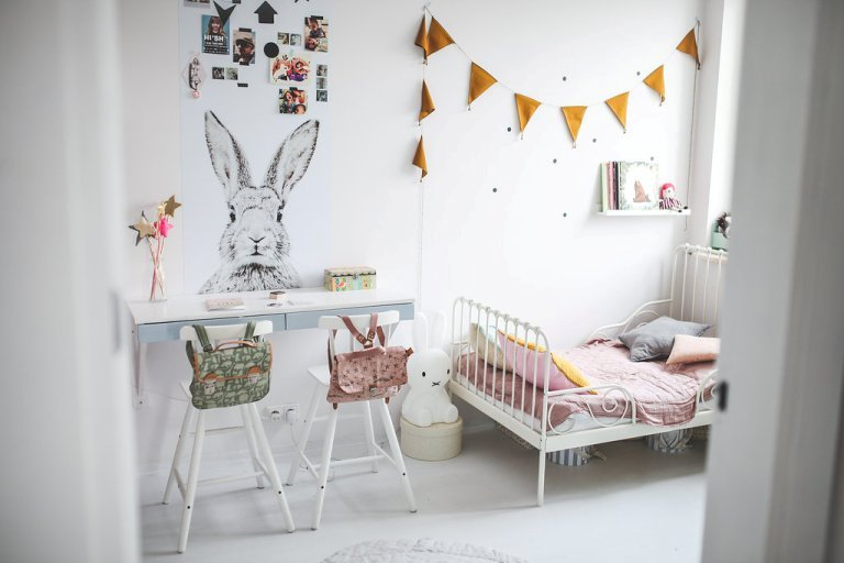 Lovely And Cute Shared Room For Three Girls