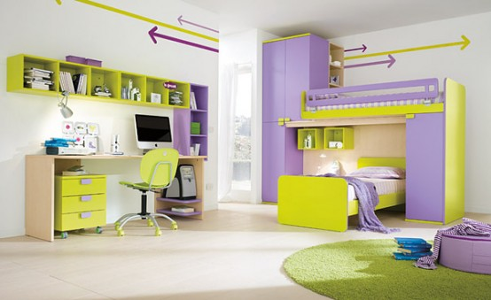 7 Inspiring Kid Room Color Options For Your Little Ones: 50 Lovely Children Bedroom Design Ideas