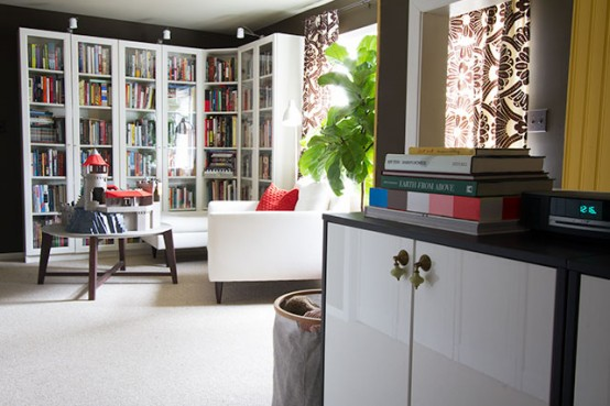 Lovely Home Library For Adults And Kids