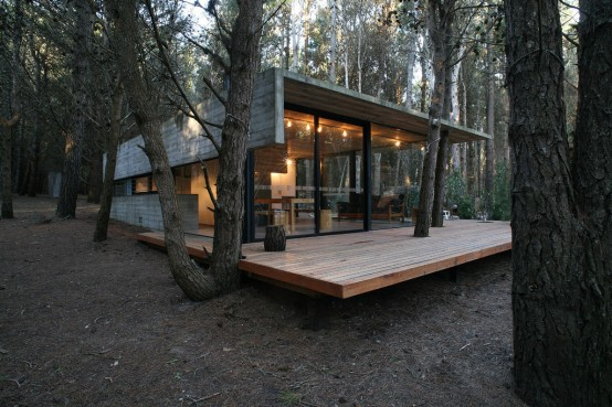 Low Costs And Easy Maintenance House Design