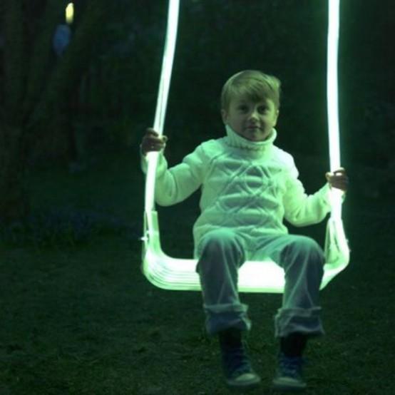 Luminous Outdoor LED Swing