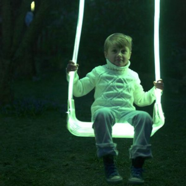 Luminous Outdoor LED Swing