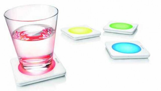 Lumiware Color Changing Coasters By Philips