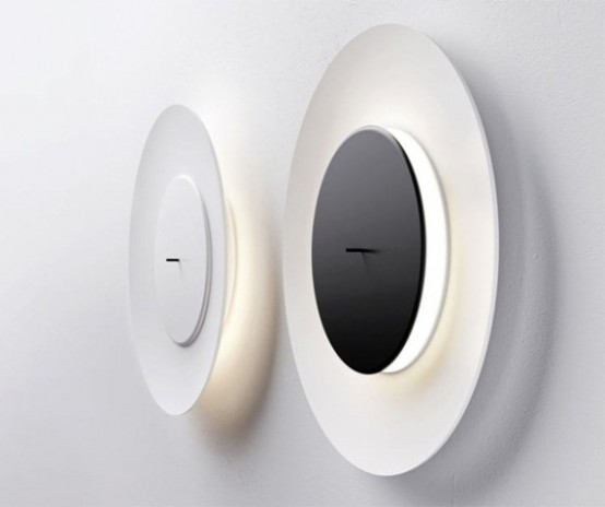 Lunaire Wall Lamp Inspired By Moon Eclipses
