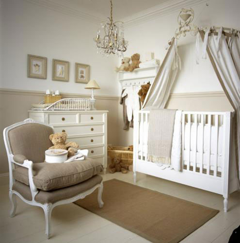 Luxurious But Neutral Nursery