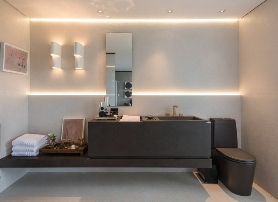Luxurious Earthy Apartment With The Highest Level Of Comfort
