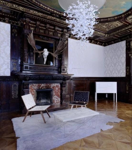 Luxurious Gentlemen's Office In Victorian Style