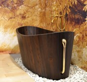 Luxurious Hand Crafted Khis Wooden Bathtubs