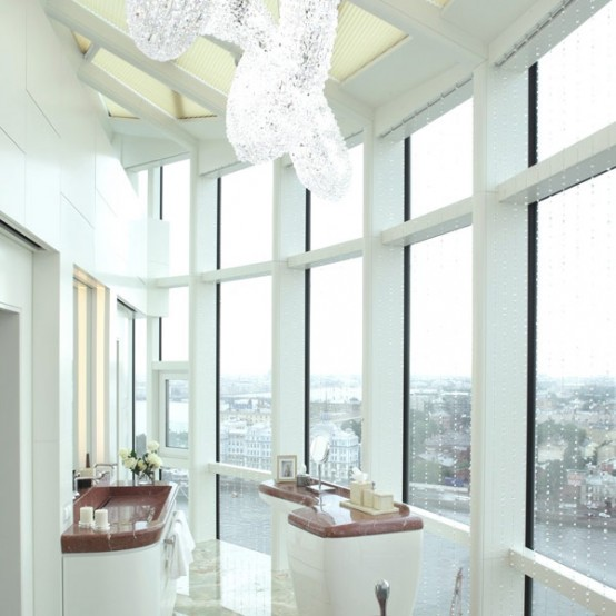 Luxurious Penthouse With Fascinating Panoramic Views