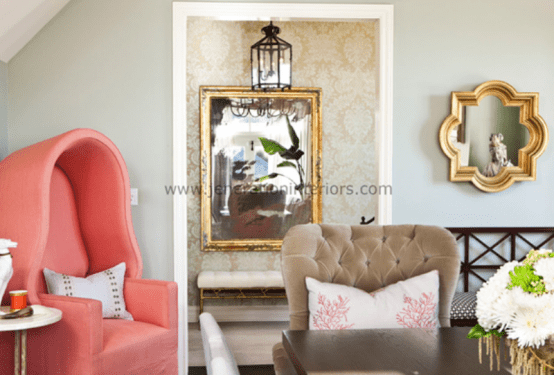 Foyer Luxury Zoo : Ideas to use luxurious porter s chairs in your interior