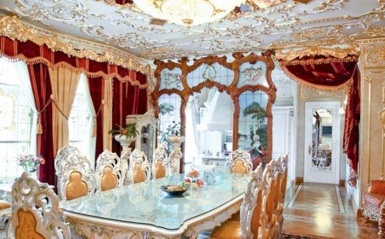 Luxurious Rococo Style Apartment