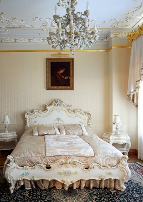 Luxurious Rococo Style Apartment Design Digsdigs