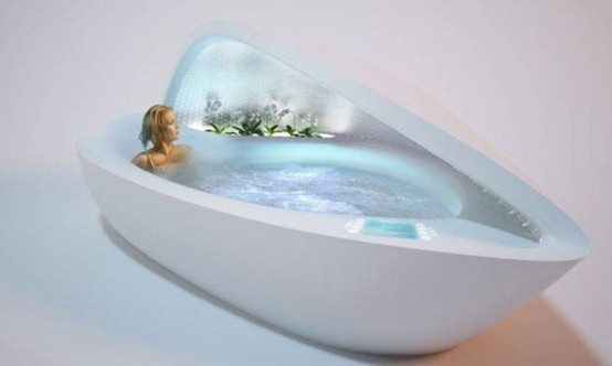 Luxurious SPA Bathtub With Everything You Need To Relax