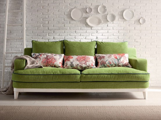 Luxurious Treci Salotti Upholstered Furniture Collection