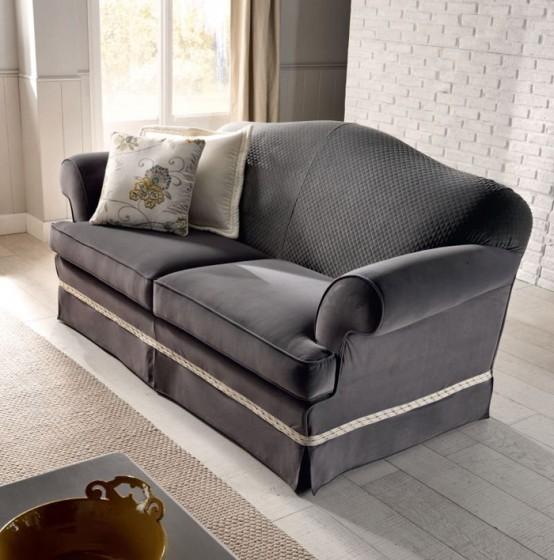 Luxurious Treci Salotti Upholstered Furniture Collection