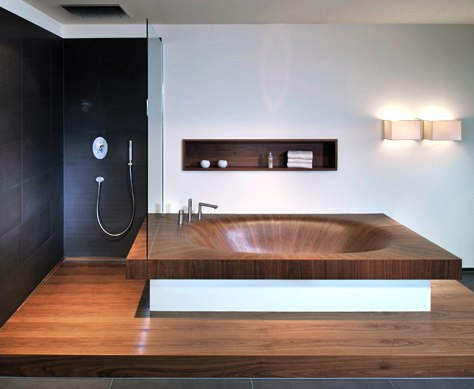 10 Really Gorgeous Wooden Bathtubs From Alegna
