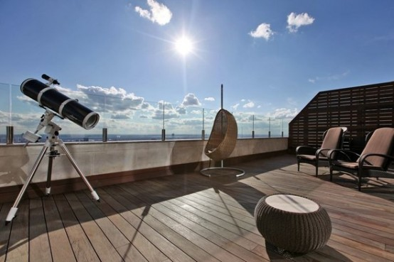 Luxury Penthouse Apartment With Amazing Deck In The Center of Moscow