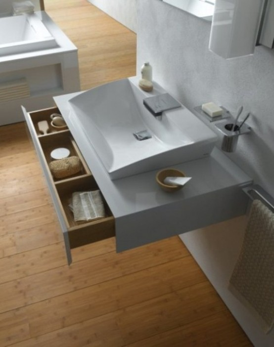Luxury Bathroom Collection In Minimalist Style