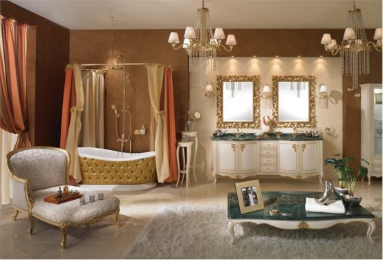 Luxury Classic Bathroom Furniture from Lineatre