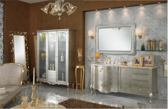 Luxury Classic Bathroom Furniture Lineatre