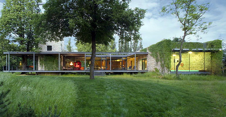 Luxury Glass House in Poland by PCKO Architects