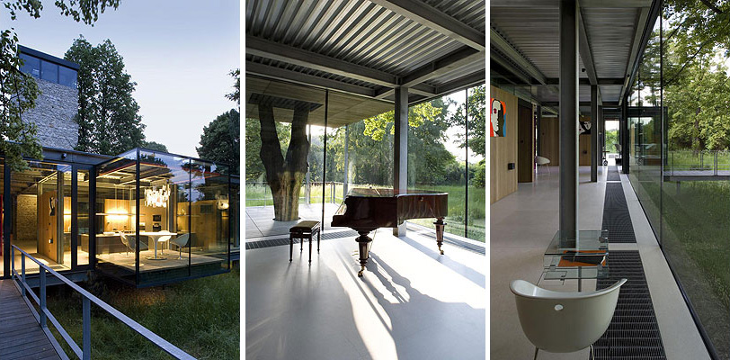 Luxury Glass House In Poland