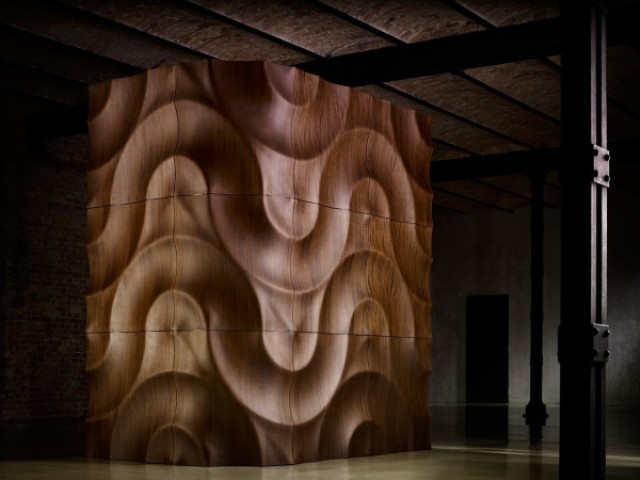 Luxury Handcrafted 3d Wooden Wall Coverings