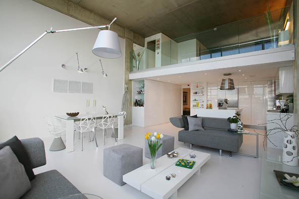 Contemporary Luxury London Loft Digsdigs