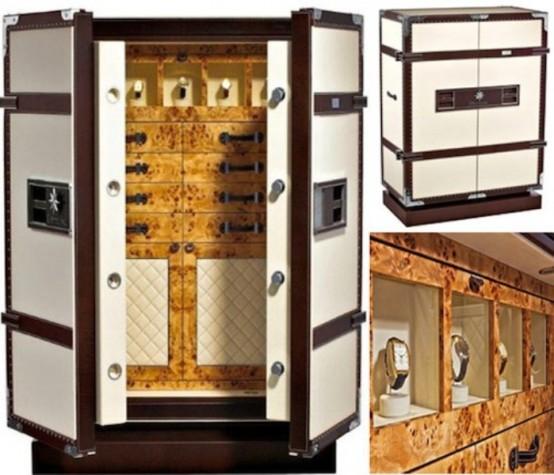 Luxury Safe Looking Like A Wardrobe