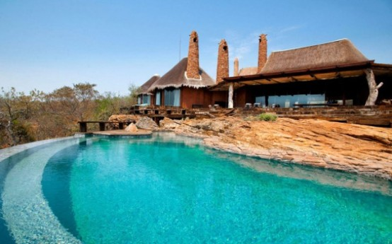 Luxury South African Villa With Cave Like Interiors