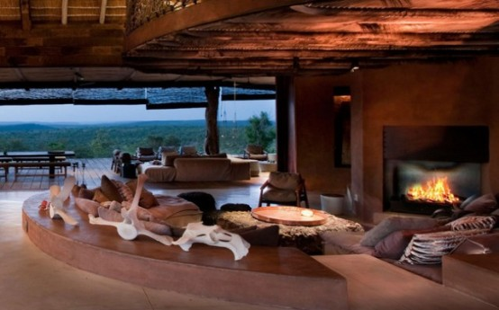 Luxury South African Villa With Cave Like Interiors Digsdigs