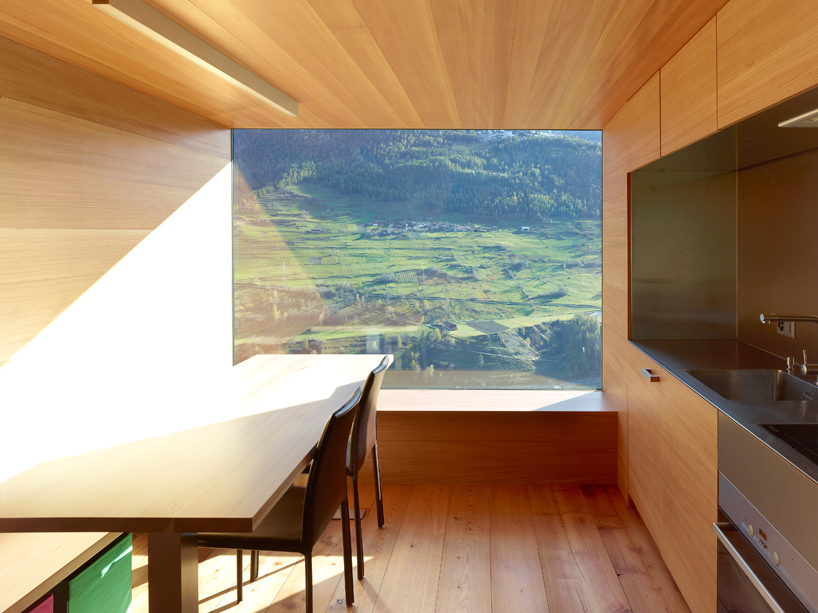 Maison Boisset With Larch Panels Interior