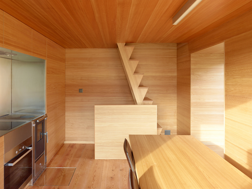 Maison Boisset With Larch Panels Interior