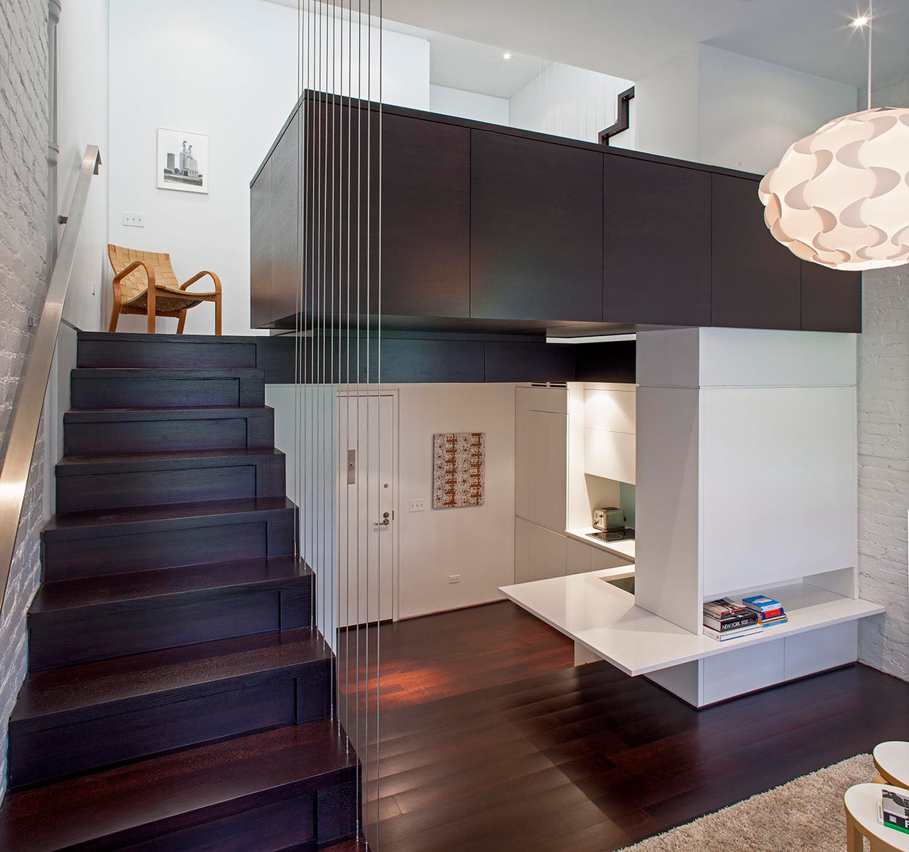 Manhattan Micro Loft With Layers Of Rooms