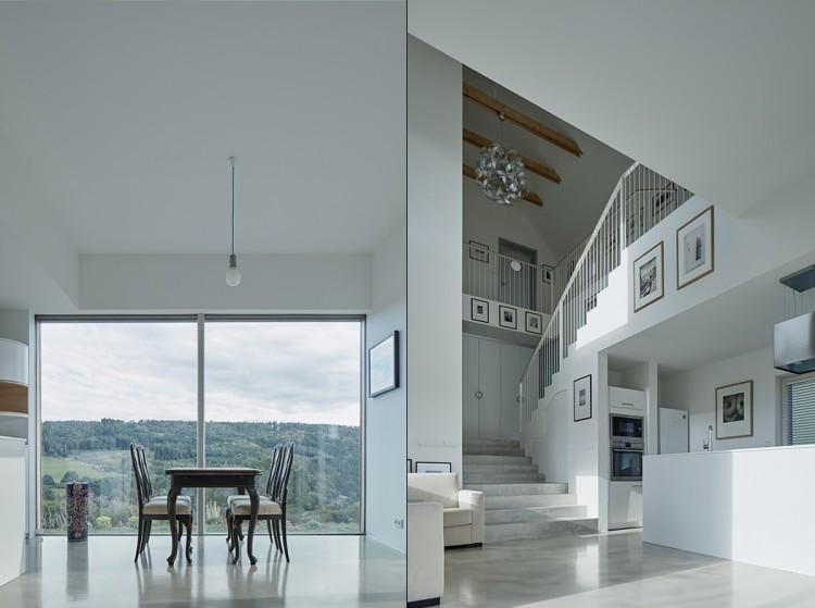 Marketka Barn House With Ultra Minimalist Interiors