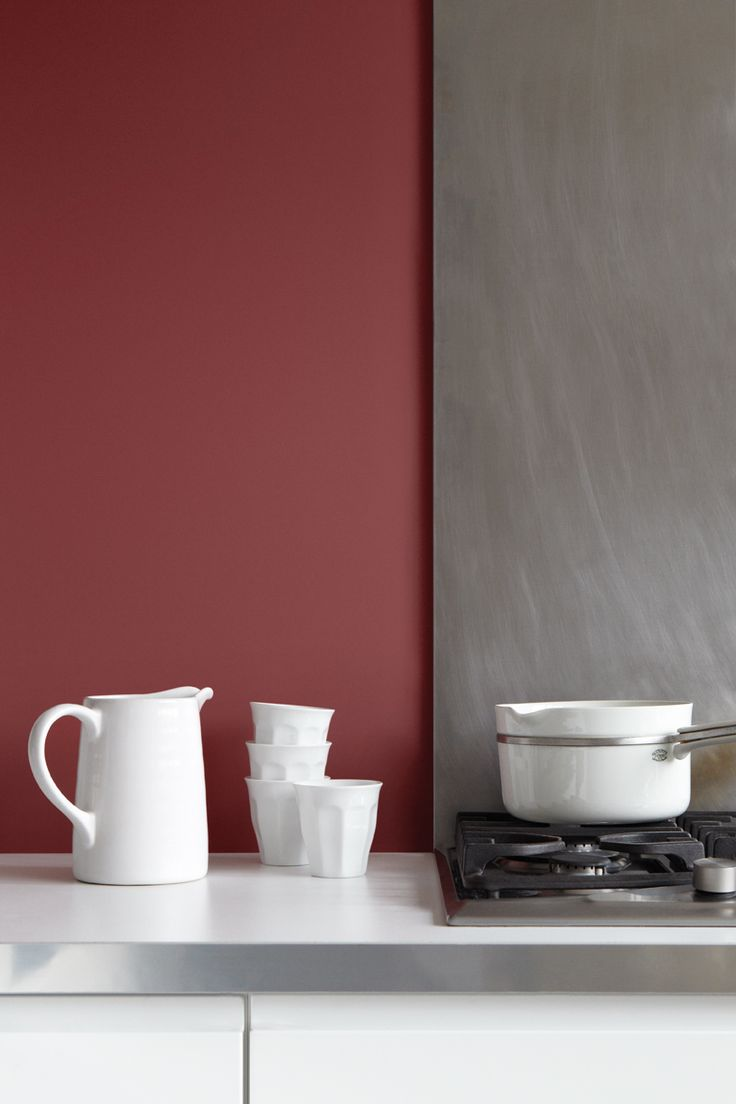 Marsala for kitchens and dining room 28 design ideas for Cuisine couleur peinture