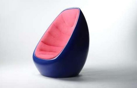 Egg Shaped Chair By Karim Rashid Digsdigs