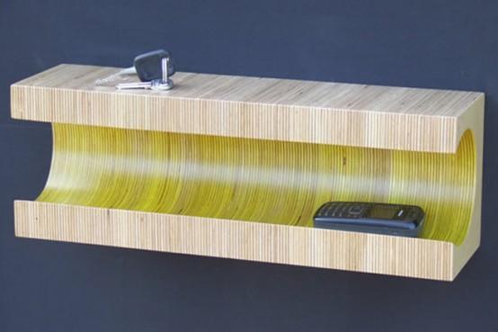 Martin Gallagher Striped Shelf