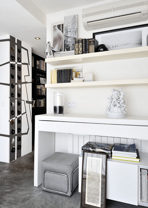 Masculine Apartment With Slight Industrial Touches