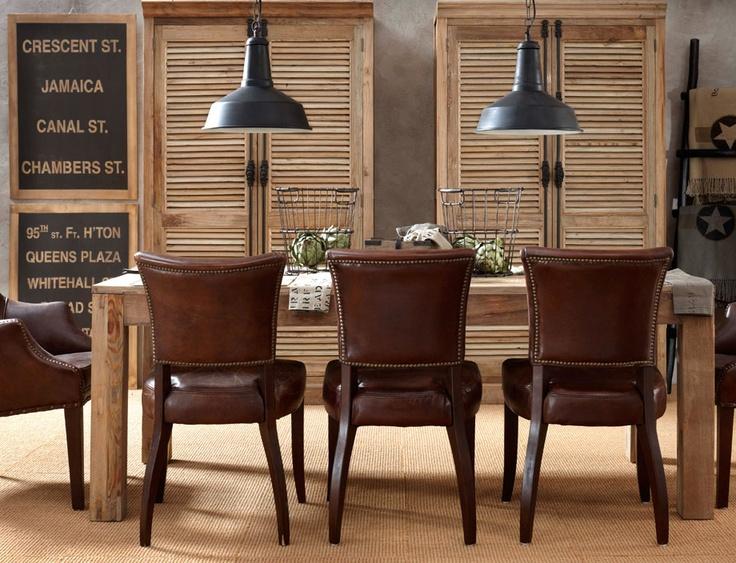 38 elegant masculine dining room designs in various styles