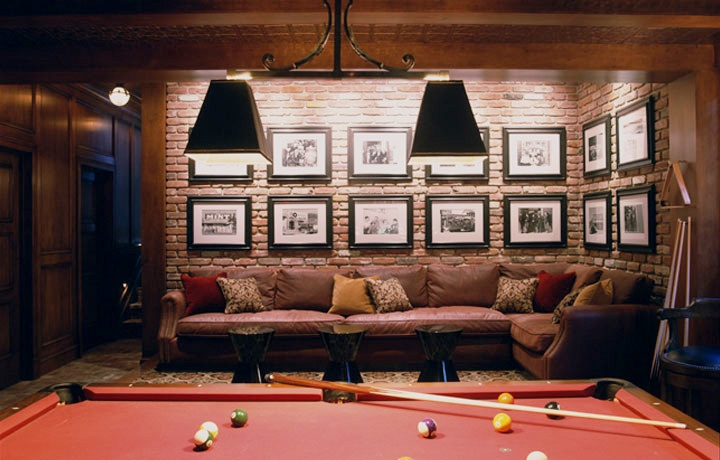 77 masculine game room design ideas digsdigs Basement game room ideas