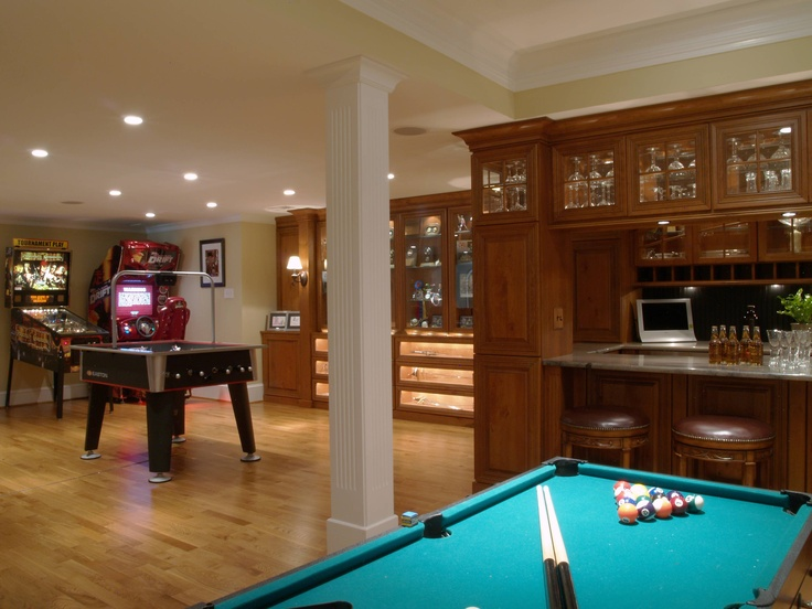 77 masculine game room design ideas digsdigs for Room design themes