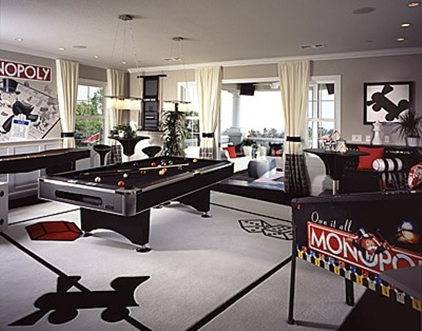 77 masculine game room design ideas digsdigs Cool gaming room designs