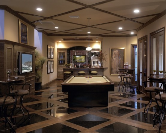 77 masculine game room design ideas digsdigs for Room 68 design