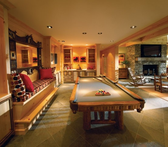 77 masculine game room design ideas digsdigs Design this home game ideas