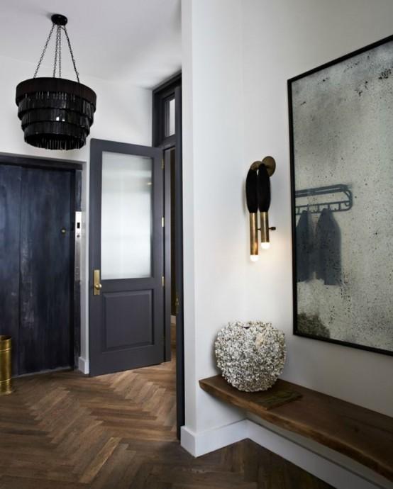 Masculine design archives digsdigs - Elegant minimalist loft design in masculine vibe wooden decoration ...