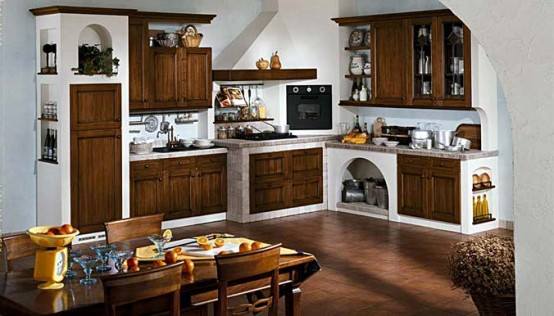 Masonry Kitchen Design Ambra
