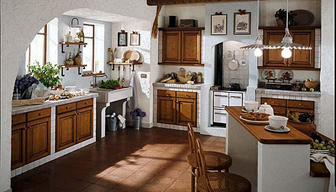 Masonry Kitchen Design Katia Abete