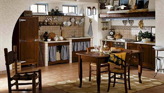 Masonry Kitchen Design Letizia