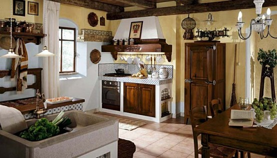 Masonry Kitchen Design Matilde